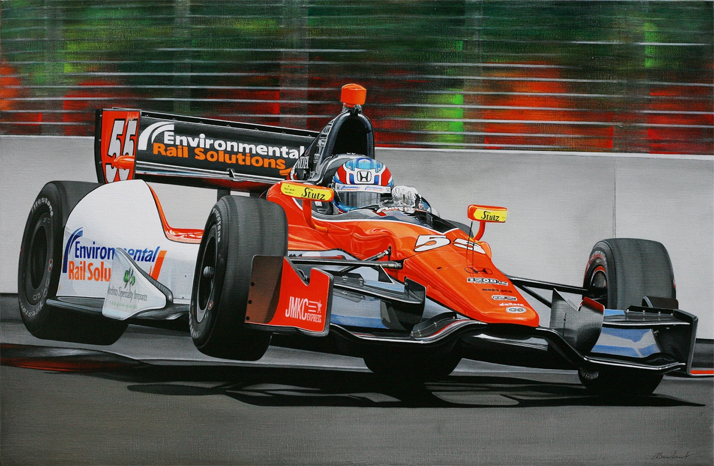 19. INDYCAR Baltimore 2013 - Coll. part